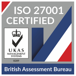 ISO compliance badge